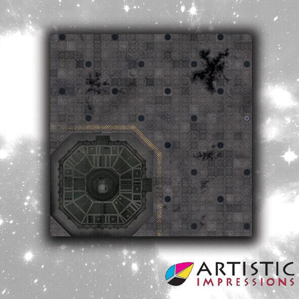 NEW Vinyl 4x4' Landing Pad Gaming Mat - Ideal for Warhammer