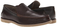 CALVIN KLEIN Yaden Leather Casual Loafers Shoes Men's 9 NEW IN BOX
