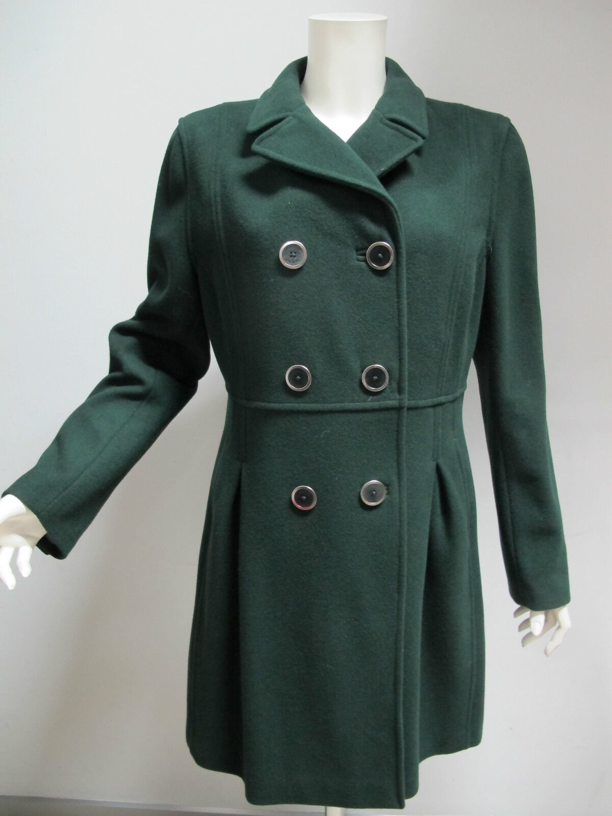GANT women's coat mod.475083 H.F.WOOL LONG col.dark green size L winter 2010