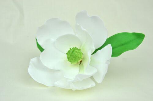 wedding handmade,cake topper southern magnolia birthday,sugar paste