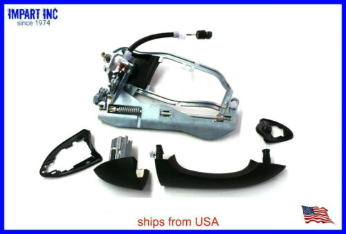 BMW X5 Outer Door Handle Carrier  with Cable and Handle Kit Front Right Side