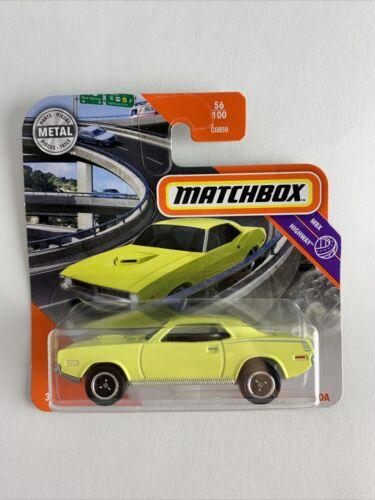 13603 56//100 Matchbox 2020-1970 Plymouth Cuda neu/&ovp