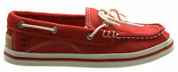 Timberland Earthkeepers Casco Bay Slip On Youths Boat Shoes Kids Red 7272R D30