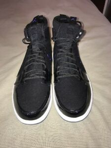 size 40 03de3 99227 Image is loading AIR-JORDAN-1-RETRO-ULTRA-HIGH-BLACK-CONCORD-