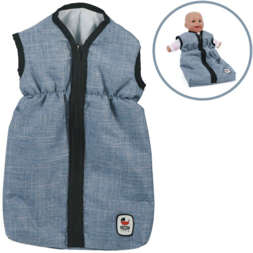 Bayer Chic 2000 Puppenschlafsack Jeans Blue