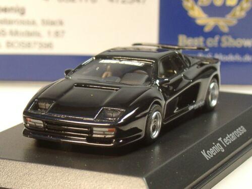 87396-1:87 schwarz BOS Ferrari KOENIG Testarossa