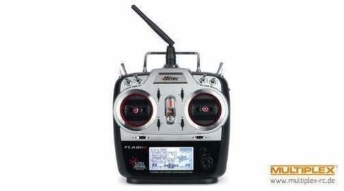 110188 Hitec FLASH 8 2,4 GHz Senderset für Flugmodelle zum Sonderpreis