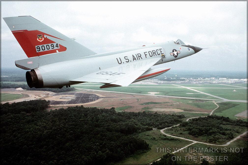 Poster, Molte Misure; F-106 Delta Dart P2