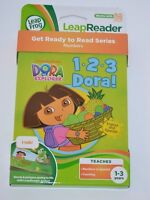 Dora the Explorer 1 2 3 Dora Leap Frog Tag Junior Book Preschool Reading NEW Toys