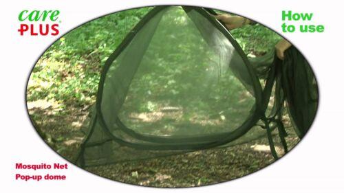 SIMPLE CARE PLUS Pop-up Dome imprégnés Moustiquaire Léger autoportante
