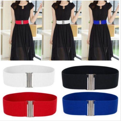 Coat Dress Waist Silver Belts Cinch Wide New Elastic Stretch Corset Waistband