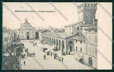 Reggio Emilia Montecchio cartolina QK0315