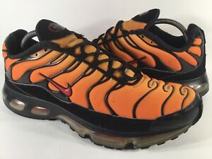 Cesta Suavemente Baño  Nike Air Max Plus 360 Tn Orange Pimento Tiger Black Sunset Mens Size 11.5  Rare | eBay