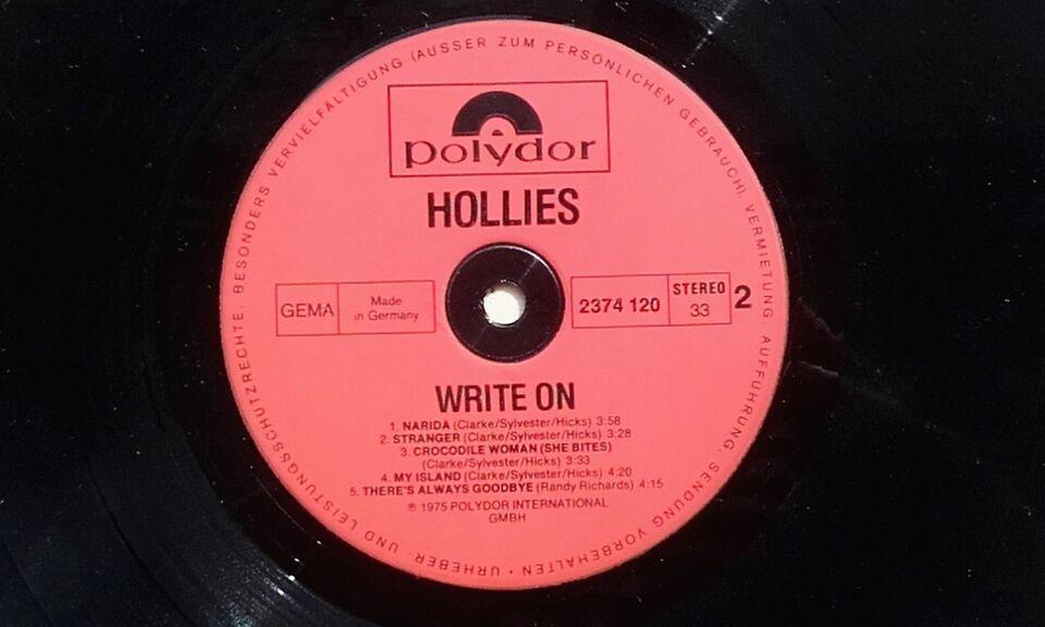 LP, Hollies, Write On