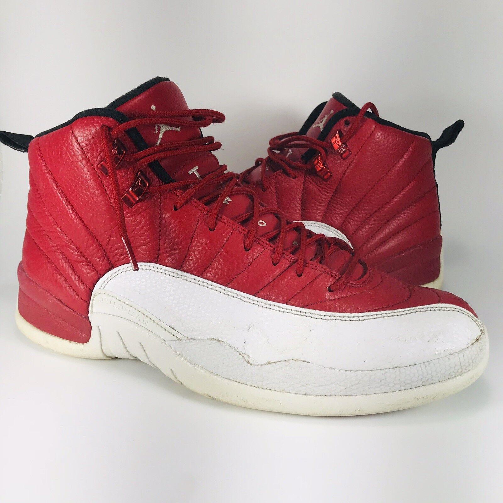 Jordan 12 XII Retro Air Gym Rojo blancoo 130690-600 baloncesto alternativo