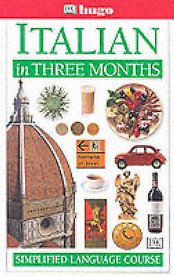 """AS NEW"" Italian in Three Months (Hugo), Reynolds, Milena, Book"