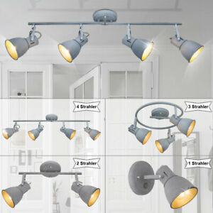 Decken Beleuchtung Wohnzimmer Leuchte rund Strahler beweglich GU10 Osram Lampen