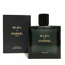 BLUE DE CHANEL PURE PARFUM FOR MEN SPRAY 3.4 OZ 100 ML NEW IN SEALED BOX 10c6cb392545