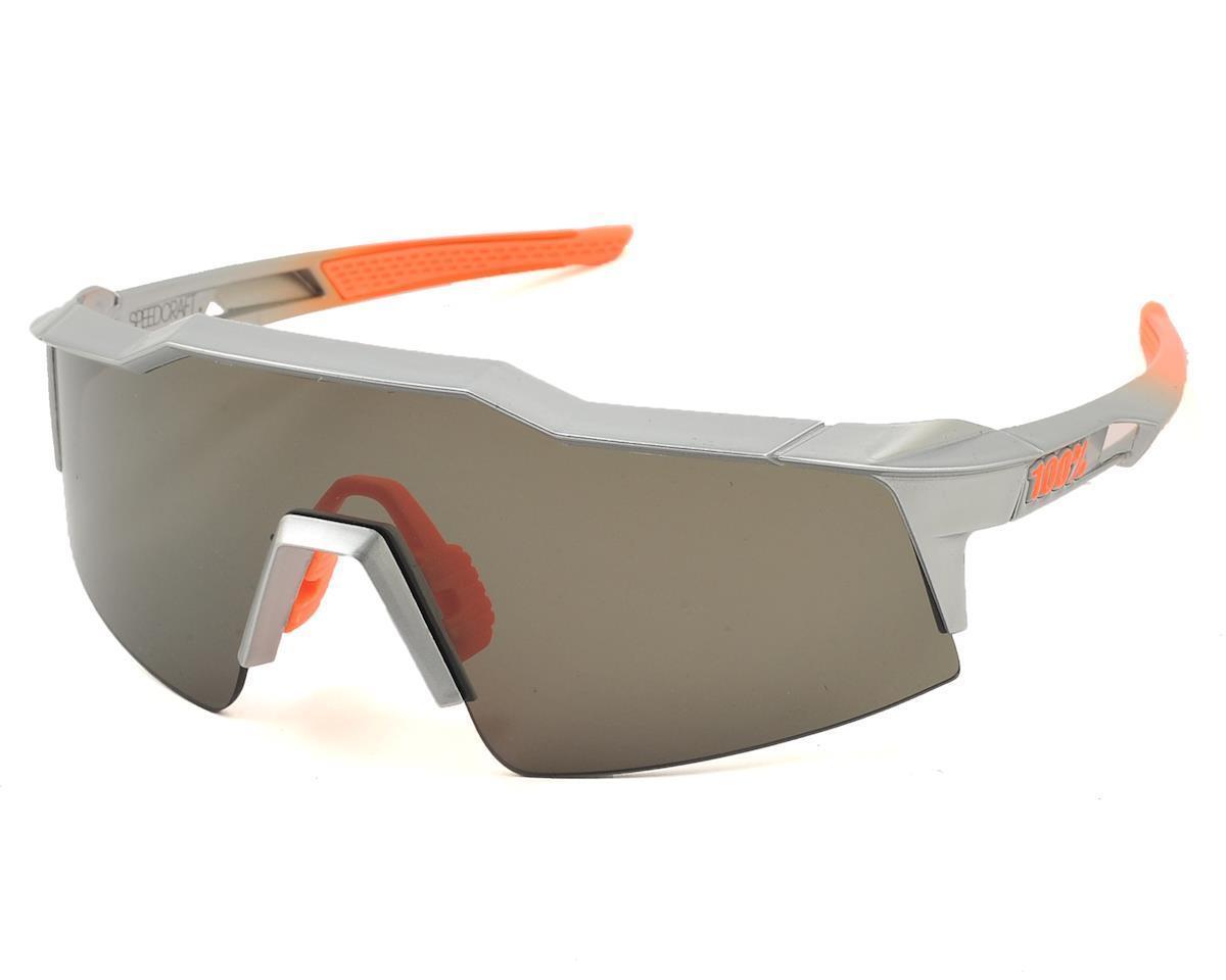 61002-036-57 100% Speedcraft SL Sunglasses (Arc Light) (Short Smoke Lens)