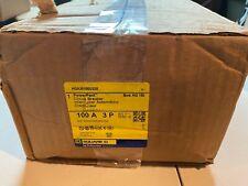 Square D Hga36100u33x 3p 600v 100a Lsi Trip Circuit Breaker Powerpact New In Box