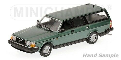 Volvo 240 GL break 1986 verde Metallic 1 18 Minichamps