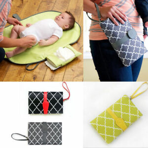 Baby-Portable-Folding-Diaper-Changing-Pad-Waterproof-Mat-Bag-Travel-Storage-GW