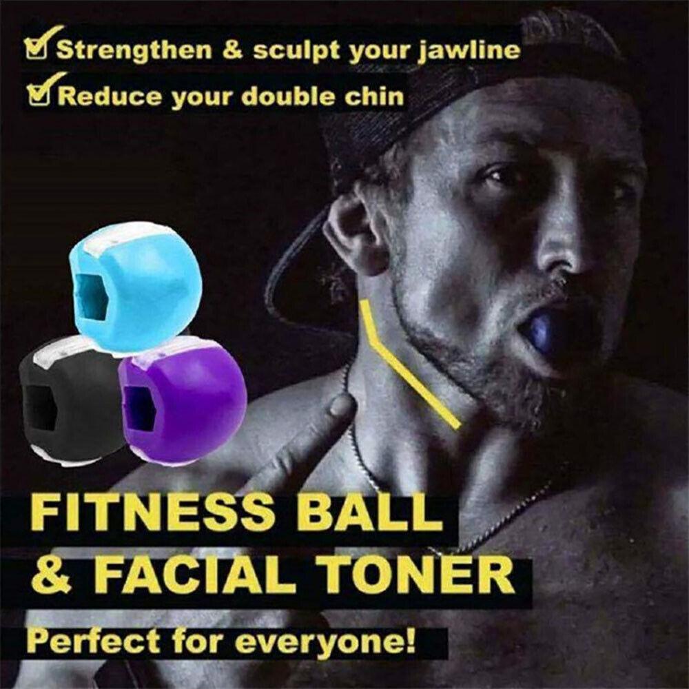 Jawline Exercise Jawlineme Exerciser Fitness Ball Neck Toning Jawzrsize Jaw face