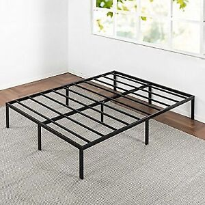 Buy Best Mattress Full Bed Frame 14 Inch Metal Platform Beds W