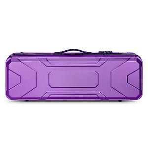 Crossrock CRA400VF Hardshell Oblong Violin Case,4/4 size, ABS Molded, 5 colors
