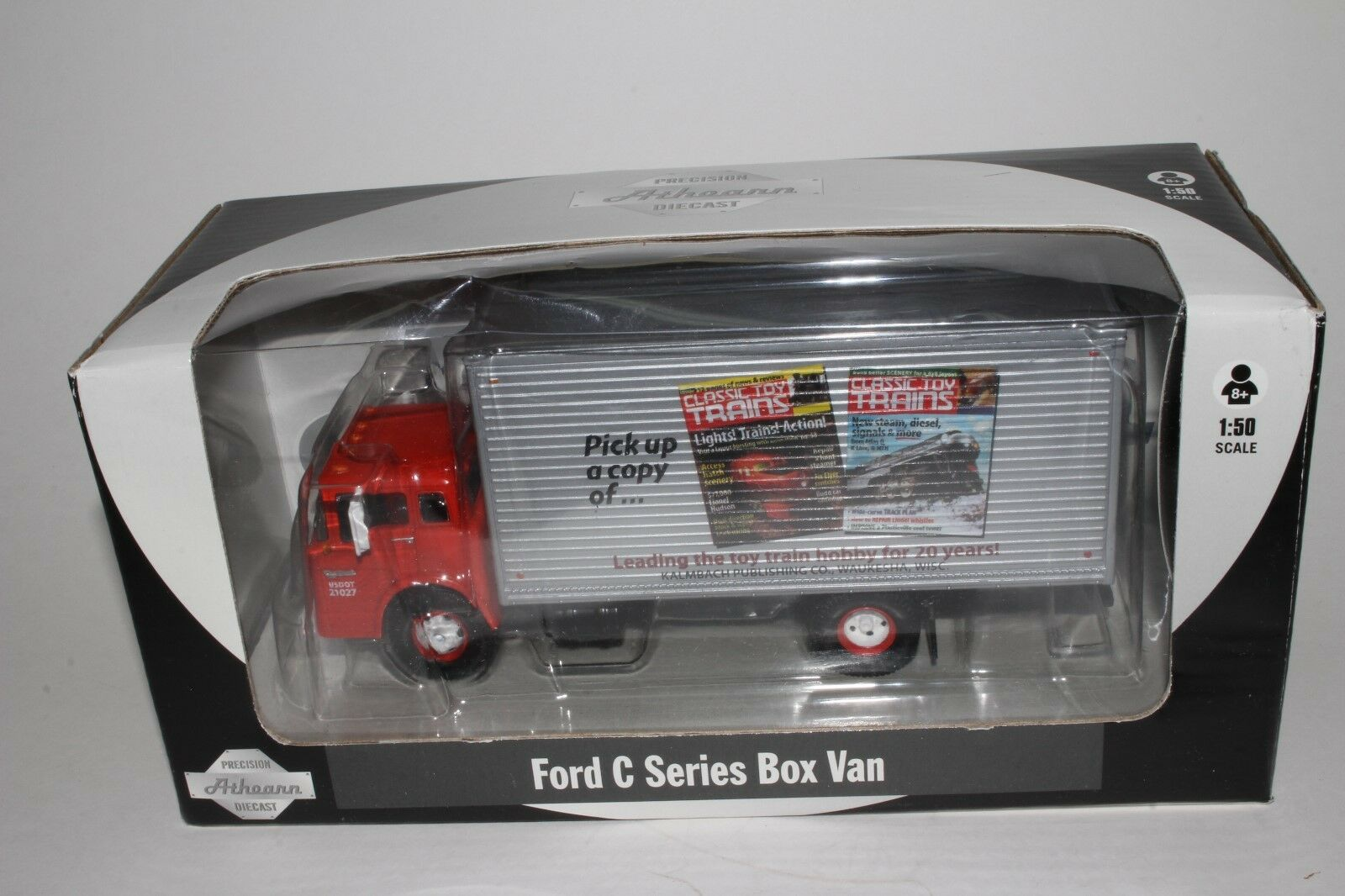 Athearn FORD Série C Box Van Camion, Classic Toy trains, O scale 1 50,  2