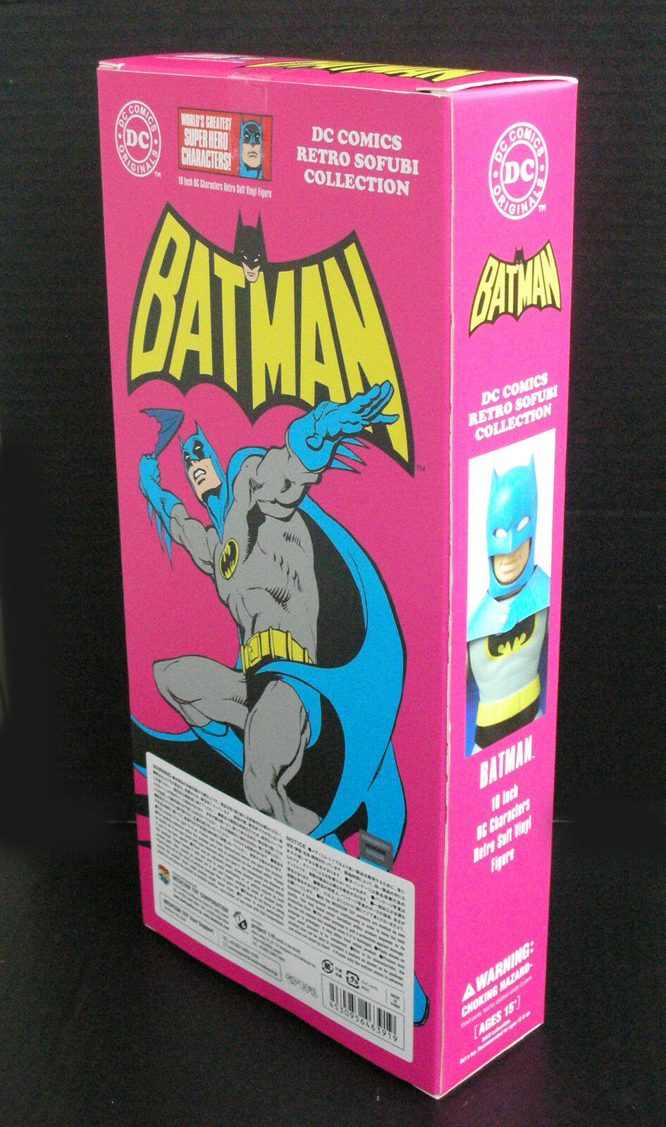 DC Comics Retro Sofubi Collection Batman Soft Vinyl Toy Toy Toy Medicom 25 cm c2f7c0