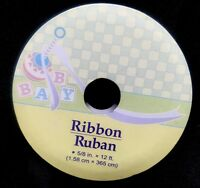 Ribbon Baby Shower Baby Ribbon Gift Wrapping 5/8 12ft.