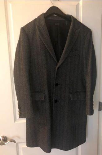 Men's DKNY Wool/Cashmere blend Overcoat