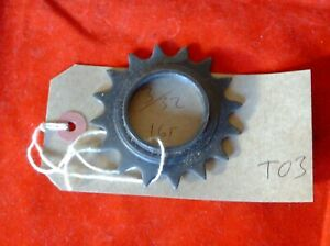 """BMX /& ROAD Bike Bicycle FIXED FIXIE TRACK SPROCKET 16 Tooth 3//32/"""" Brand New"""