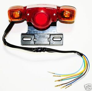 Tail Light For Mini Chopper Dirt Bike Mini Bike With Turn Signals