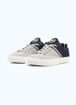 Sneakers Uomo Colmar Bradbury Half Scarpe Pelle Foam Grigio