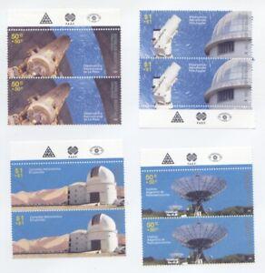 2009 Argentina  - Astronomische Observatorien - paar MNH