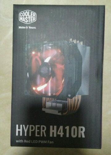 Cooler Master HYPER H410R Red LED PWM Fan CPU Cooler LGA 775//1150//1151//1155 AM4