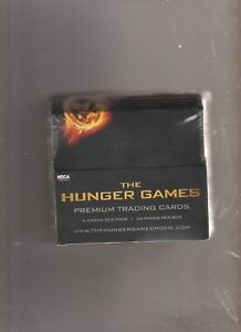 THE-HUNGER-GAMES-PREMIUM-2012-NECA-Trading-Cards-Factory-Sealed-Box-24-Packs