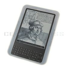 Clear Silicone Skin Case GEL Cover for Amazon Kindle 3