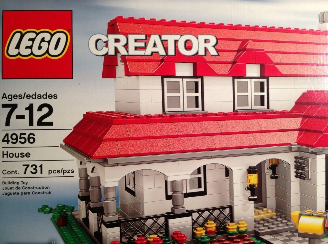 LEGO 4956 CREATOR House 731 pcs pcs pcs NISB 03d8fa