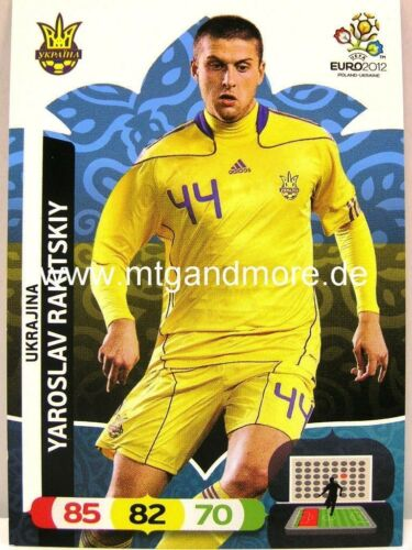 Yaroslav Rakitskiy Adrenalyn XL EURO EM 2012 Ukraine