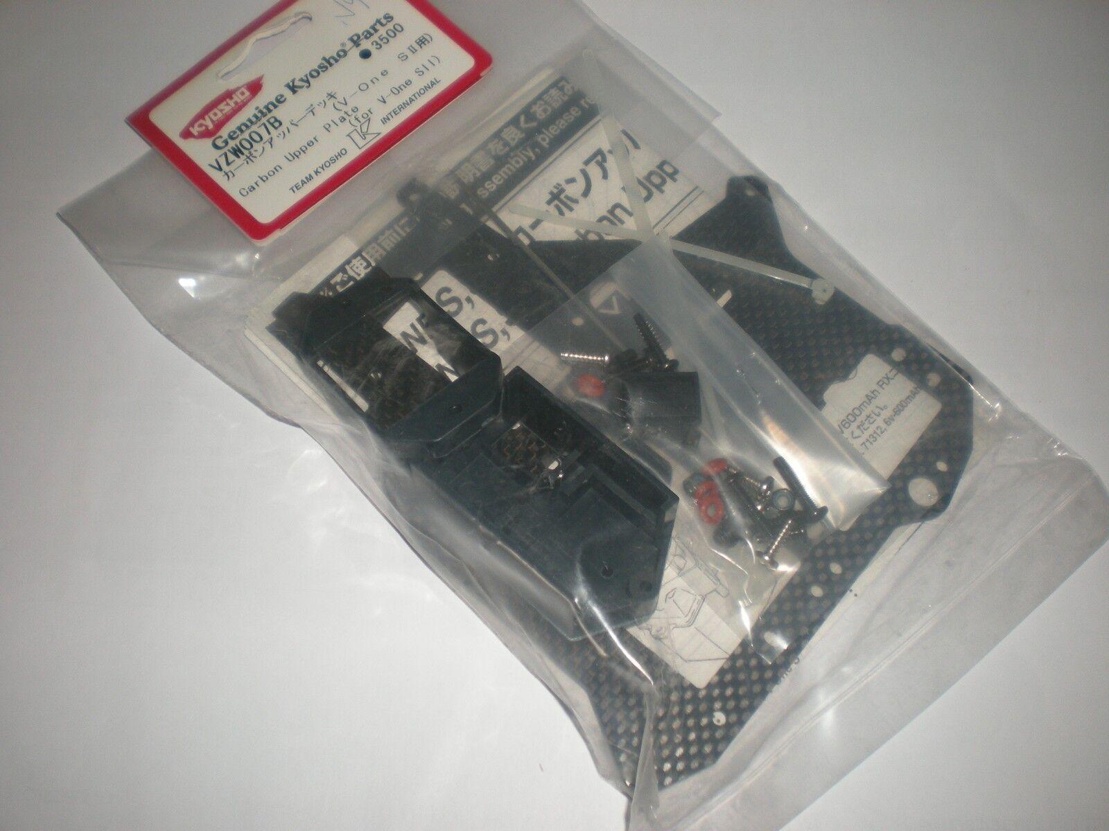 KTYOSHO VZW007B Platine radio carbone V-One SII