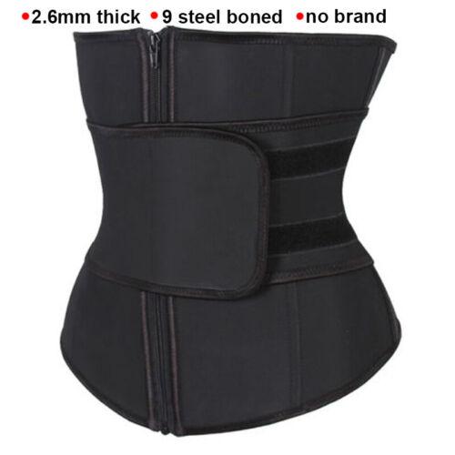Women Waist Trainer Vest Gym Slimming Adjustable Sauna Sweat Belt Body Shaper US