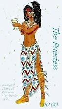 """*NEW* CLOTH ART DOLL (E-PATTERN) DOWNLOAD """"THE PRIESTESS"""" BY MARY TRESSLER"""