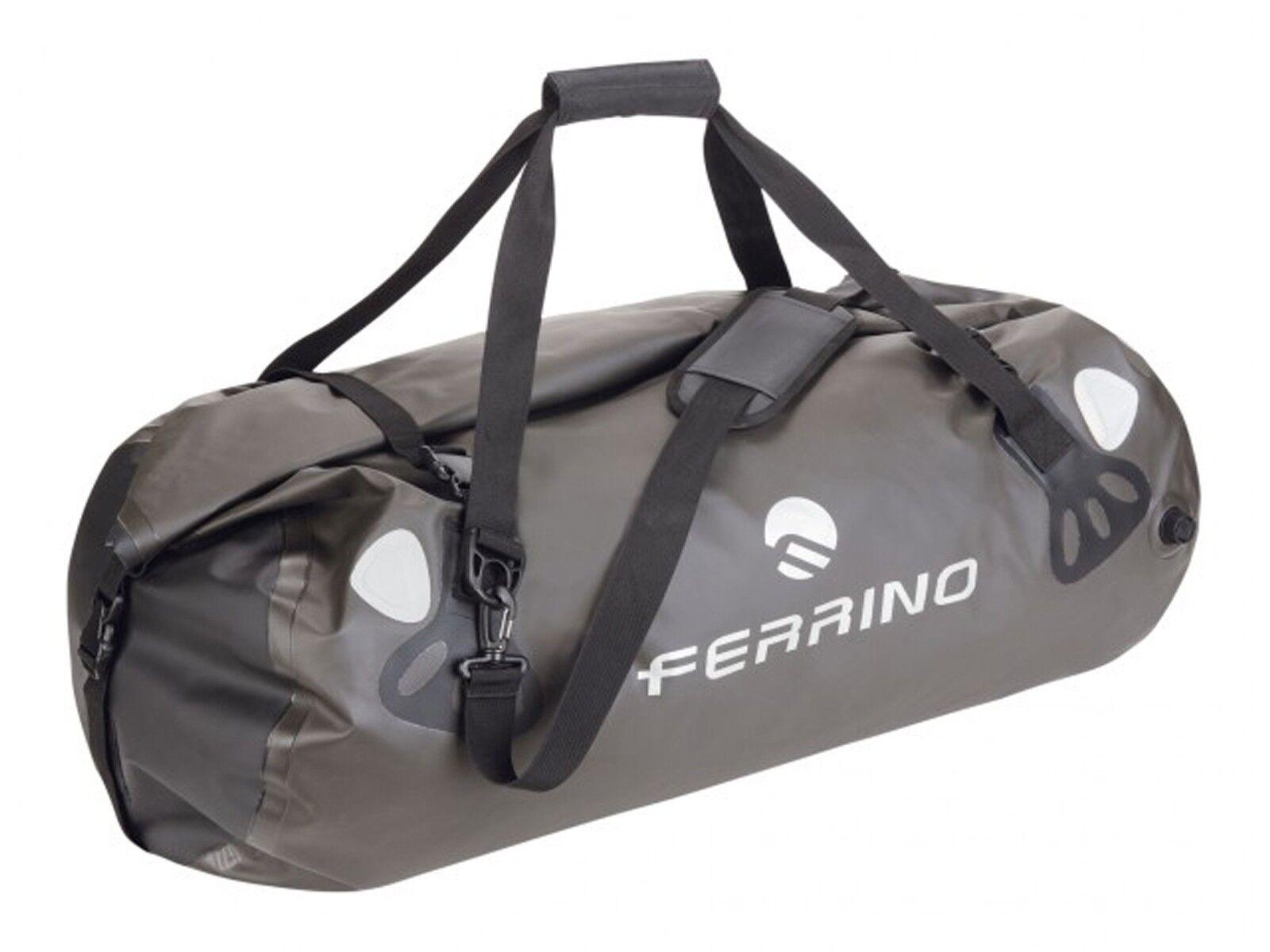 SACCA 90 LT  FERRINO  72518  DUFFLE SEAL NERO