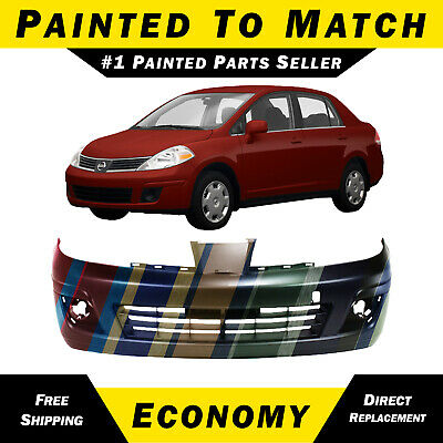 Value For Nissan Versa 07-12 Value Front Center Lower Bumper Cover Valance OE Quality Replacement