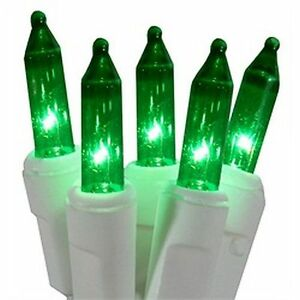 image is loading 6v replacement mini light bulbs 50 green mini
