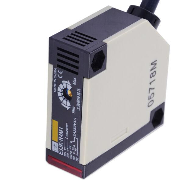 Reflexión especular fotoeléctrico DC12-24V 3A E3JK-R4M1 Sensor Switch Con Scr W2K4