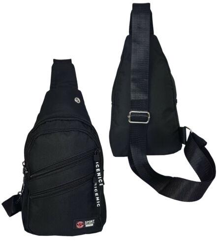 Brusttasche Z-Bag Neu stabile Damen und Herren Bodybag Umhängetasche Top 216